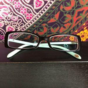 Tiffany's & Co. heart eyeglasses